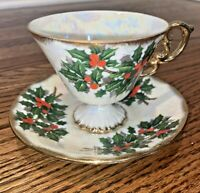 Vintage Vcagco Ceramics Japan Tea Cup And Saucer