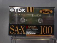 TDK SA-X100 High Position Cassette Tape