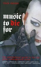 Gothic BUCH : Music To Die For (UK,2009) by Mick Mercer