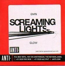 (779A) Screaming Lights, GMN / Glow - DJ CD