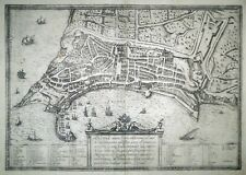 Radierung, Ancona, Braun & Hogenberg, 1572, Städtebuch,Adria