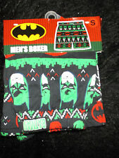 Batman Holiday Christmas boxer underwear sm The Dark Knight mens Briefly Stated