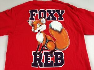 Foxy Reb T-Shirt Womens Small Ole Miss Runnin Rebels Rags Oxford Mississippi Tee