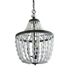 Decor Therapy Reese Orb 3-Light Black Chandelier