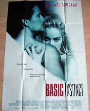 Paul Verhoeven  BASIC INSTINCT original Kino Plakat A0