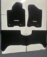 Fit 04-10 Nissan Armada Infiniti Qx56 04-12 Titan Floor Mats Black W/emblem