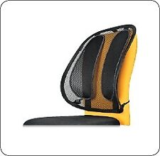 Fellowes Office Suite Mesh Back Support Black