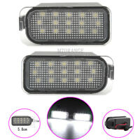 2x LED Number License Plate Light Lamps For Jaguar XJ XF Ford EcoSport C-MAX 10-