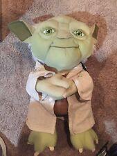 ef4ce730387 18 inch Star Wars YODA Plush Doll Figure GET IT FAST ~ US SHIPPER
