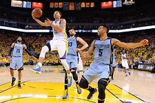Stephen Curry Unsigned 12x18 Golden State Warriors (10)