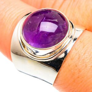 Amethyst 925 Sterling Silver Ring Size 8.5 Ana Co Jewelry R75185F