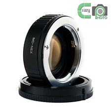 for Minolta MD Lens to Sony NEX7 5C A6300 5T Focal Reducer Speed Booster Adapter