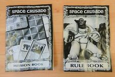 SPACE CRUSADE 1990 SPARES -  RULE BOOK AND MISSION BOOK