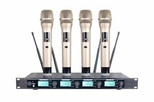 4 Channel Wireless Microphone Four Metal Dynamic Handheld Microphone 4300S
