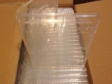 NEW LOT OF 2 PlayStation 3 PS3 Clear Empty Replacement Blu-ray Game Case Box DVD