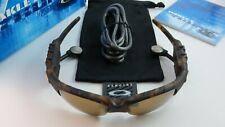Oakley Thump 1.0 Mp3 Tortoise Gold Iridium Polarized 256MB+Box Flip Up+Box NEW