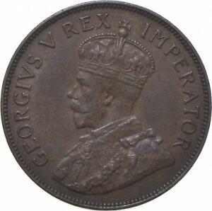 Better - 1936 South Africa 1 Penny - TC *810