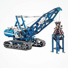 Mechanical Crawler Crane Power Function Heavy GRU Building Blocks bricks Technic