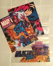 THE CLASSIC MARVEL FIGURINE SPECIAL GALACTUS Fascicolo + Poster in INGLESE
