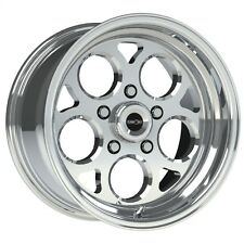 15X4 VISION SPORT MAG POLISHED MAGNUM PRO DRAG RACING WHEEL 5X4.75 1pcNO WELD