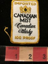 Vtg CANADIAN MIST WHISKY Advertising Patch 84G2