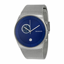 Skagen Stainless Steel Case Men's Watches with Chronograph