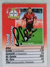 Bernd Schneider, Leverkusen, Fußball, Nationalspieler, Bravo-Sport AK 2