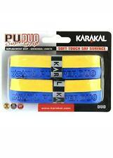 Karakal PU DUO Super Grip, pack of 2 Blue & Yellow NEW IN PACK