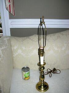 "WILLIAMSBURG TULIP CANDLESTICK LAMP VIRGINIA METALCRAFTERS 25 1/2"""