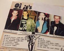 Schwarzes Vinyl ESE Deutschrock Oi Isd LP Rebelles Europeens Rock O Rama