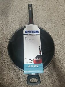 Tramontina Everyday Jumbo 5 Quart Non Stick Frying Cooker Pan
