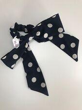 Urban Outfitters Black/White Polka Dot Spot Hair Tie/Ribbon/Bow. RRP £5