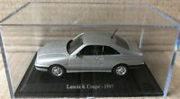 "DIE CAST "" LANCIA K COUPE' - 1997 "" + TECA RIGIDA BOX 2 SCALA 1/43"