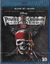 Pirates of the Caribbean on Stranger Tides Blu-ray 3D + Blu-ray Sale  New sealed