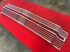 66 Ford Galaxie 500 Custom 500 Ranch Wagon Grille #C6AZ-8200-B Original