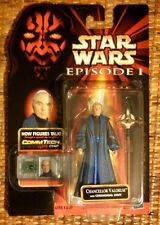 Star Wars Episode 1 Chancellor Valorum Mint on Card with CommTech chip