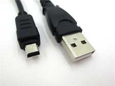 USB Charger Data Transfer Cable for Olympus Camera Stylus 850 sw 1000 CB-USB6