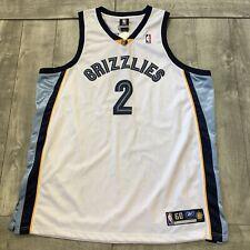 NEW NBA JERSEY MEMPHIS GRIZZLIES JASON WILLIAMS REEBOK AUTHENTIC SZ 60 WHITE