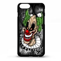 Clown scary evil clowns tattoo sleeve ink circus horror pattern phone case cover