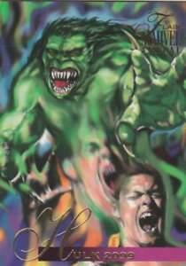 Trading card Flair Marvel Annual - Hulk 2099 (106)