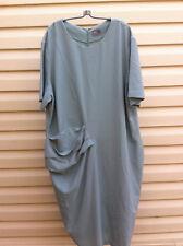 STYLISH ASOS LIGHT GREEN SIDE GATHERED DRESS SIZE: 24 US/28 UK BNWOT
