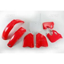 honda cr125 cr250 1993-1994  ufo oem red white plastic kit