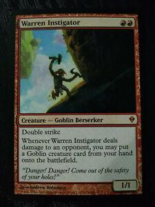 Zendikar Warren Instigator Magic//mtg Mythic Rare