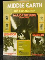 SPI Games of MIDDLE EARTH boardgames LOTR ✰ War of the Ring ✰ Gondor & Sauron