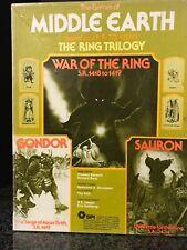 SPI Games of MIDDLE EARTH boardgames LOTR ✰ War of the Ring ✰ Gondor & Sauron