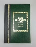 Hardcover Book  King Solomon's Mines by H. Rider Haggard Readers Digest 1994