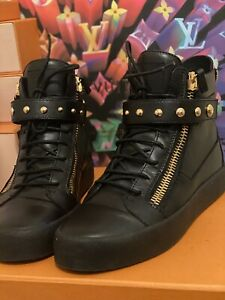 Giuseppe Zanotti high top sneakers authentic size 44(US11)
