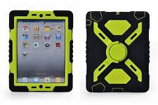 Pepkoo iPad 2/3/4 Case Extreme Duty Dual Protective Cover
