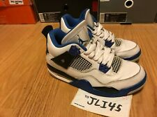 Air Jordan Retro 4 IV Motor Sport Size 4.5Y Women's Size 6 Shoes Sneakers dmp