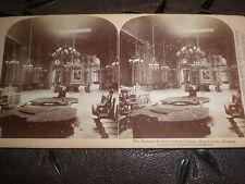 Stereoview photograph Roulette Monte Carlo Casino Monaco by Underwood 1897